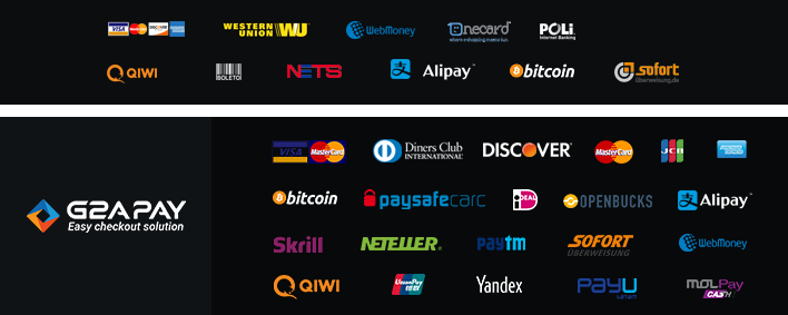 We support many payment method to buy mmorog game gold